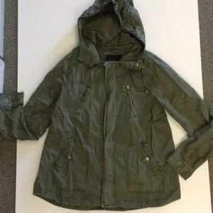 American Eagle green utility jacket
